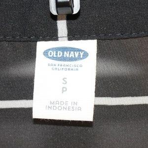 Old Navy Tops - Old Navy Sheer Black/White Blouse